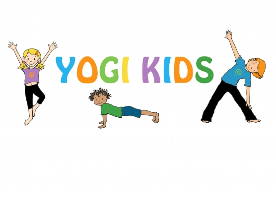 This is the logo for Yogi Kids who specialize in providing high quality kids yoga classes in Auckland, New Zealand.