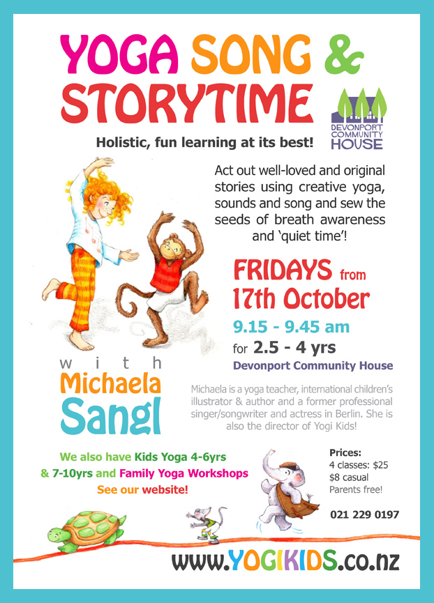 Yoga Song and Storytime - what fun!