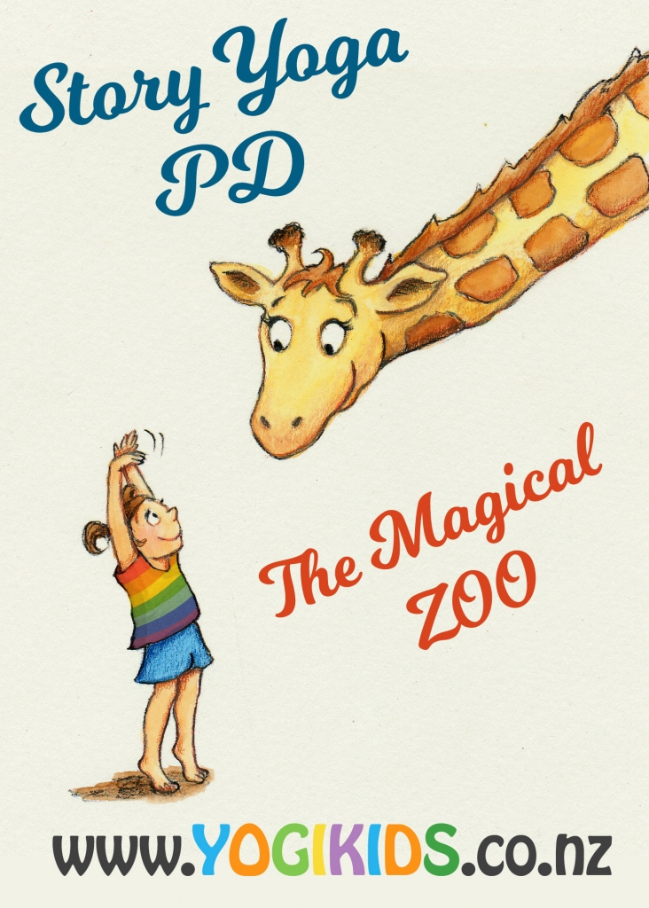 Story Yoga: The Magical Zoo Professional Development workshop