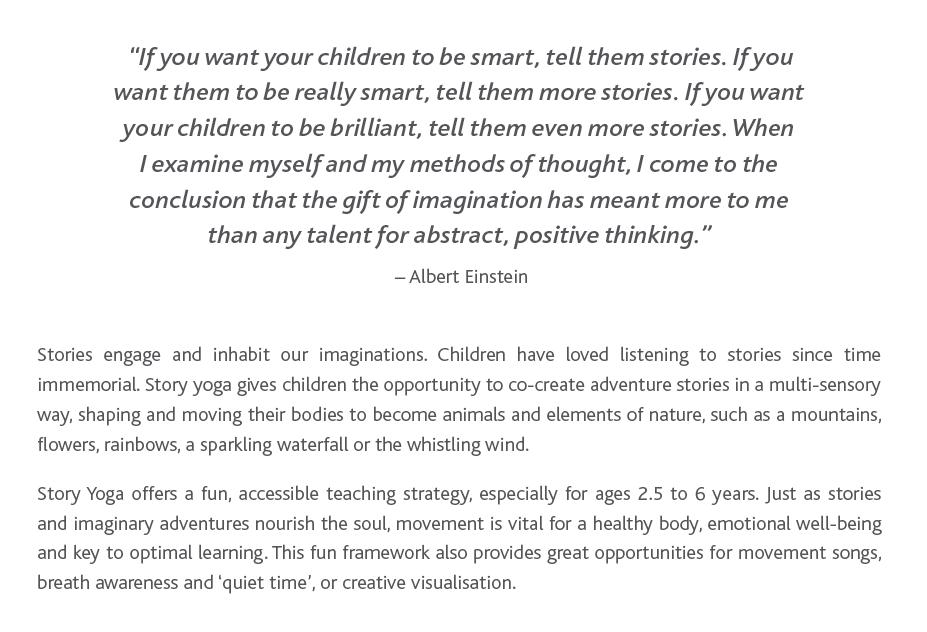 Einstein Story Yoga